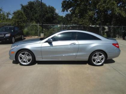 2013 MERCEDES BENZ E350 BASE - SILVER ON RED 2