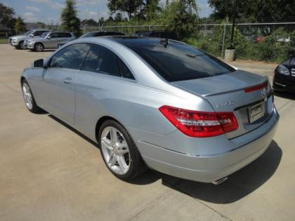 2013 MERCEDES BENZ E350 BASE - SILVER ON RED 3