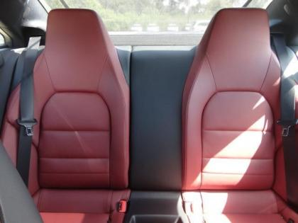 2013 MERCEDES BENZ E350 BASE - SILVER ON RED 7