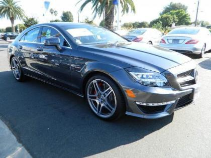 2013 MERCEDES BENZ CLS63 AMG - GREY ON BLACK 1