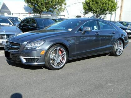 2013 MERCEDES BENZ CLS63 AMG - GREY ON BLACK 2