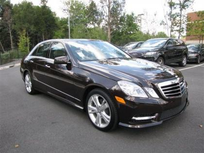 2013 MERCEDES BENZ E350 4MATIC - BROWN ON BEIGE 4