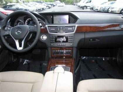 2013 MERCEDES BENZ E350 4MATIC - BROWN ON BEIGE 5