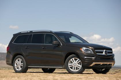 2013 MERCEDES BENZ GL450 4MATIC - BROWN ON BEIGE