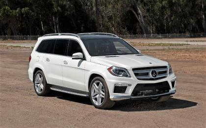 2013 MERCEDES BENZ GL550 4MATIC - WHITE ON BROWN