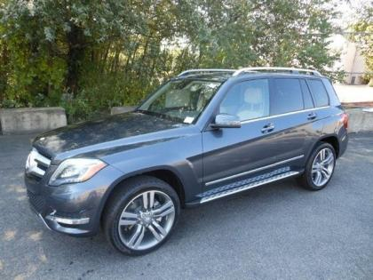 2013 MERCEDES BENZ GLK350 4MATIC - SILVER ON BEIGE
