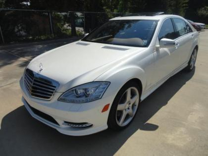 2013 MERCEDES BENZ S550 BASE - WHITE ON BEIGE