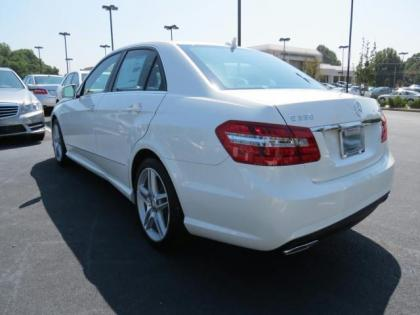 2013 MERCEDES BENZ E350 4MATIC - WHITE ON BEIGE 2