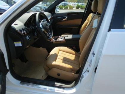 2013 MERCEDES BENZ E350 4MATIC - WHITE ON BEIGE 4