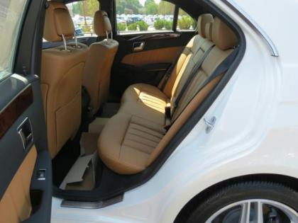 2013 MERCEDES BENZ E350 4MATIC - WHITE ON BEIGE 5