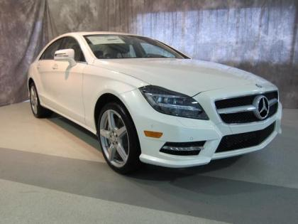 2013 MERCEDES BENZ CLS550 4MATIC - WHITE ON BEIGE