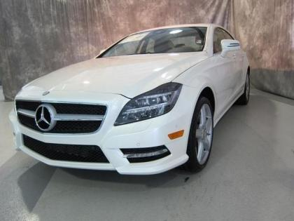 2013 MERCEDES BENZ CLS550 4MATIC - WHITE ON BEIGE 2