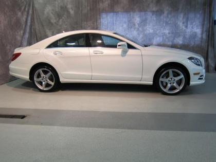 2013 MERCEDES BENZ CLS550 4MATIC - WHITE ON BEIGE 3