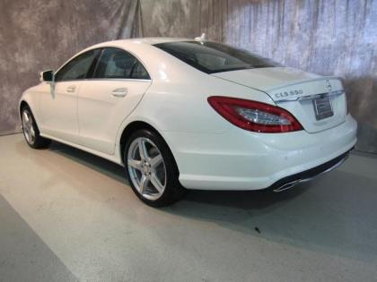 2013 MERCEDES BENZ CLS550 4MATIC - WHITE ON BEIGE 4