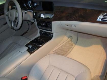 2013 MERCEDES BENZ CLS550 4MATIC - WHITE ON BEIGE 5