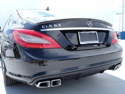 2013 MERCEDES BENZ CLS63 AMG - BLACK ON BLACK 4
