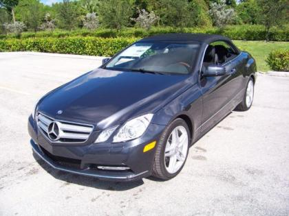 2013 MERCEDES BENZ E350 BASE - GREY ON BLACK 1
