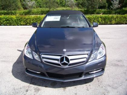 2013 MERCEDES BENZ E350 BASE - GREY ON BLACK 2