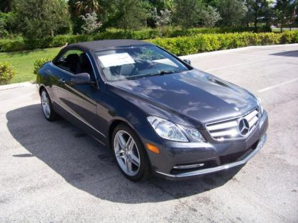 2013 MERCEDES BENZ E350 BASE - GREY ON BLACK 3