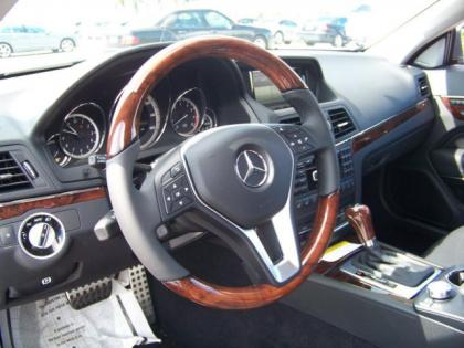 2013 MERCEDES BENZ E350 BASE - GREY ON BLACK 4