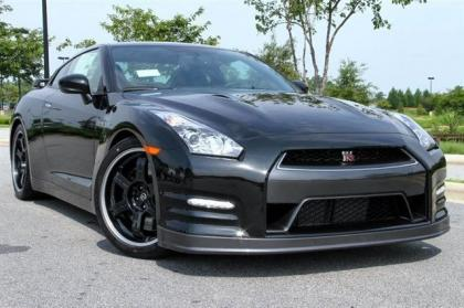 2013 NISSAN GT-R BLACK EDITION - BLACK ON BLACK