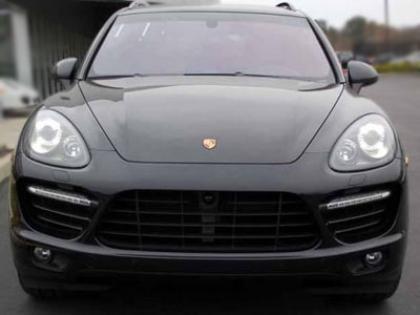 Export New 2013 Porsche Cayenne Turbo Black On Black