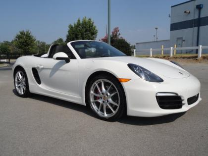 2013 PORSCHE BOXSTER S - WHITE ON BLACK