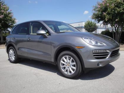 2013 PORSCHE CAYENNE DIESEL - GRAY ON BEIGE 1