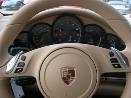 2013 PORSCHE PANAMERA 4 - BLACK ON BEIGE 6
