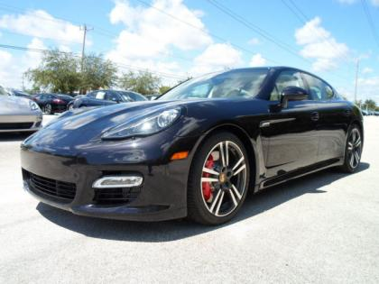 2013 PORSCHE PANAMERA TURBO - BLACK ON BEIGE