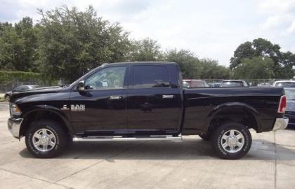2013 RAM 2500 LARAMIE TRUCK CREW - BLACK ON BLACK 4
