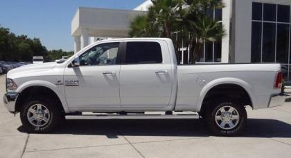 2013 RAM 2500 LARAMIE TRUCK CREW CAB - WHITE ON BLACK 3