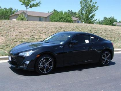 2013 SCION FR-S BASE - BLACK ON BLACK
