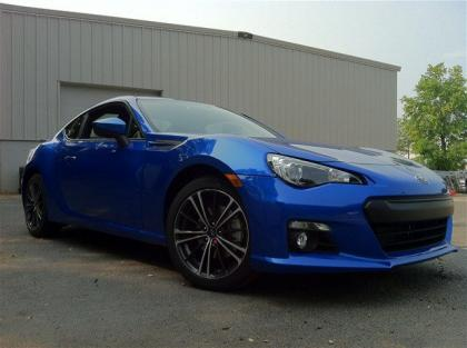 2013 SUBARU BRZ LIMITED - BLUE ON BLACK