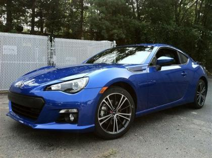 2013 SUBARU BRZ LIMITED - BLUE ON BLACK 3