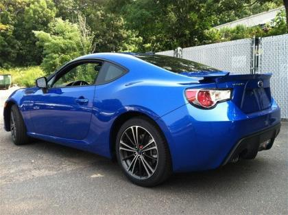 2013 SUBARU BRZ LIMITED - BLUE ON BLACK 4