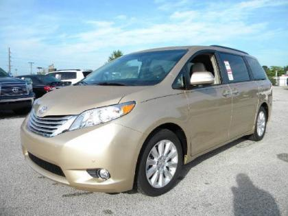 2013 TOYOTA SIENNA LIMITED - BRONZE ON BEIGE 2
