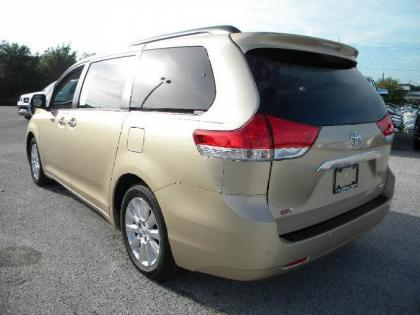 2013 TOYOTA SIENNA LIMITED - BRONZE ON BEIGE 3