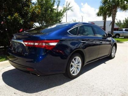 2013 TOYOTA AVALON XLE - BLUE ON BEIGE 3