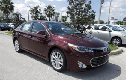 2013 TOYOTA AVALON LIMITED - RED ON BLACK 1