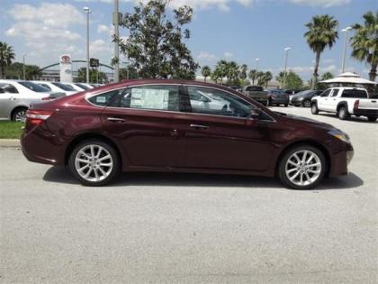 2013 TOYOTA AVALON LIMITED - RED ON BLACK 2