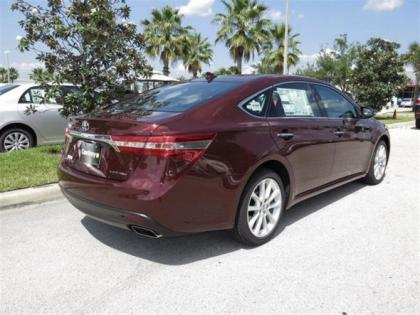 2013 TOYOTA AVALON LIMITED - RED ON BLACK 3