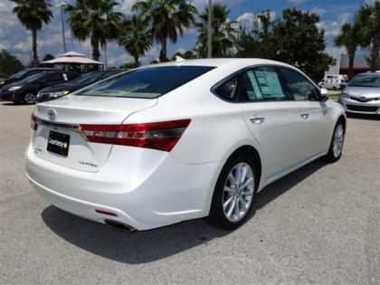 2013 TOYOTA AVALON LIMITED - WHITE ON BEIGE 2