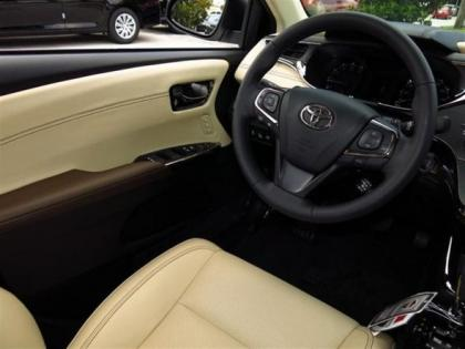 2013 TOYOTA AVALON LIMITED - WHITE ON BEIGE 4