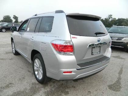 2013 TOYOTA HIGHLANDER HYBRID LIMITED - SILVER ON GRAY 2