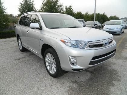 2013 TOYOTA HIGHLANDER HYBRID LIMITED - SILVER ON GRAY 3