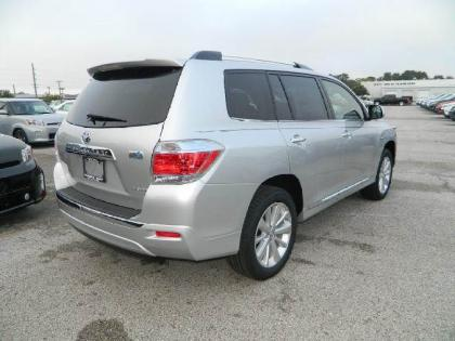 2013 TOYOTA HIGHLANDER HYBRID LIMITED - SILVER ON GRAY 4