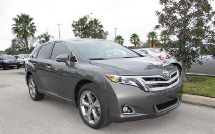 2013 TOYOTA VENZA LIMITED - GRAY ON GRAY