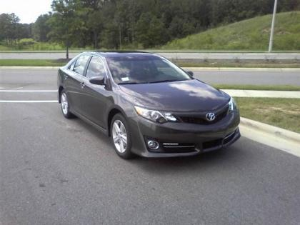 2012 TOYOTA CAMRY SE - GREY ON BLACK