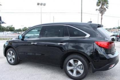 2014 ACURA MDX BASE - BLACK ON BLACK 2